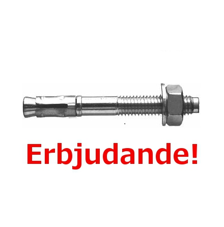 Expanderbult 10 x 90 mm FZB